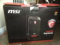 Msi nightblade gaming pc with headset keyboard and mouse looking to swap for a 125cc plus 200 pound