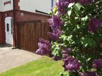 One bedroom first floor flat with private garden in a good residential area. Alvaston Derby