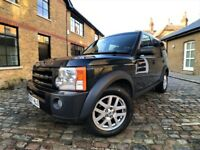 Land Rover Discovery 3 2.7 TD V6 XS 5dr p/x welcome ONLY 1 OWNER*6 MONTHS WARRANTY 2007 , SUV