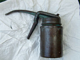 Vintage Wesco Trigger Oil Can