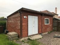Garden shed 6.5m x 3.5m
