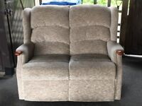Small sofa,suitable for a bungalow or flat etc.