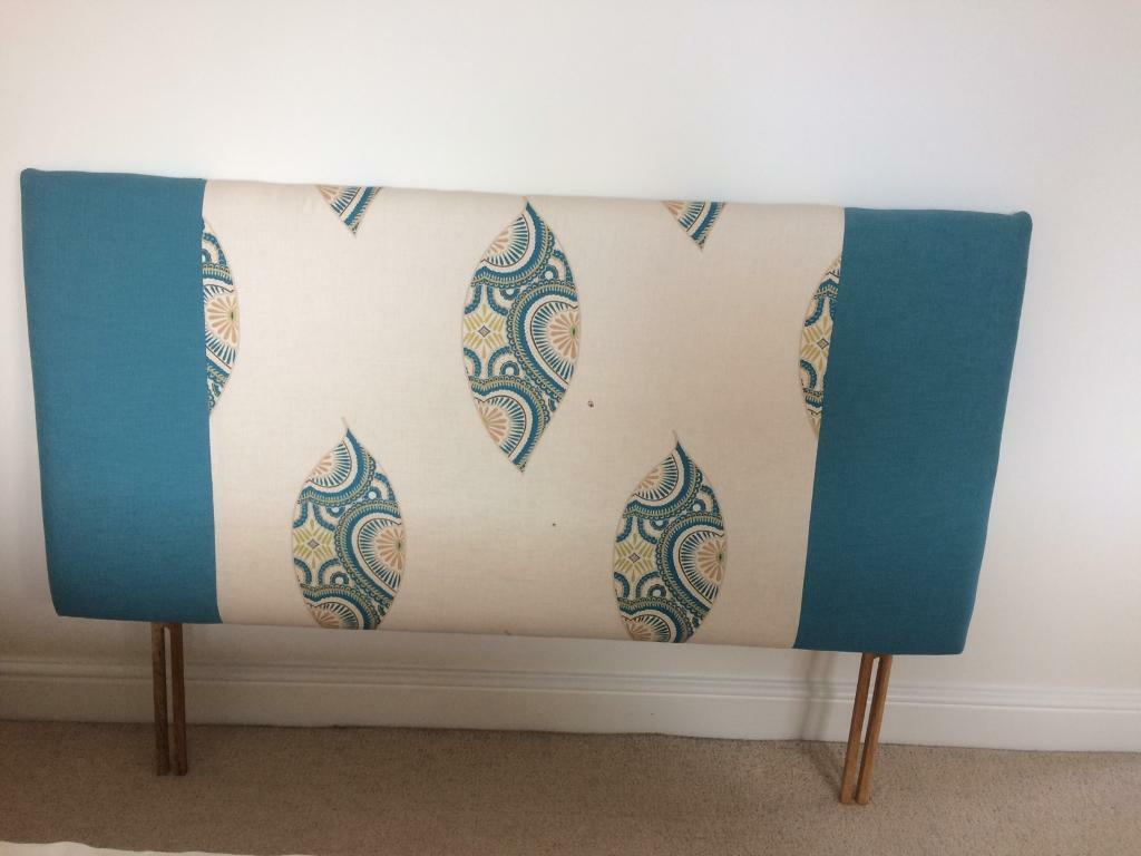 Headboard, blinds cushions and material