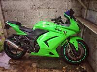 Ninja 250 swap for old 600