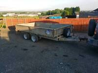 Ifor williams 12 x 6.6 drop side trailer just serviced