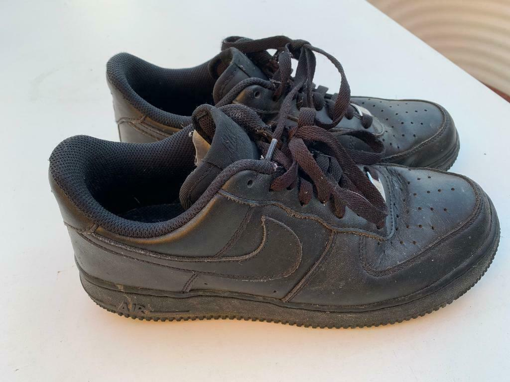 best loved b3f20 7df3f NIKE AIR FORCE 1 BLACK SIZE 7