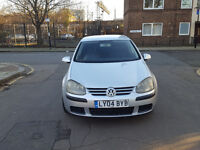 2004 Volkswagen Golf 1.4 Silver 5dr hatchback Manual Petrol MOT AMay2018 all previous MOT papers