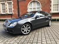 Mercedes-Benz C Class 2.1 C220 CDI SE 2dr+AUTO+FULLY LOADED+1 OWNER+PAN ROOF not c200 c180