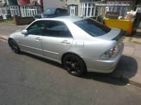 Lexus is300 Rare with free tank of fuel!
