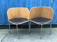 Pair of bentwood chairs FREE DELIVERY PLYMOUTH AREA