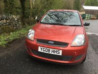 Ford Fiesta 2008 only 64000 miles Diesel Manual 1399cc