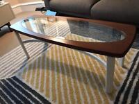 Retro upscaled coffee table