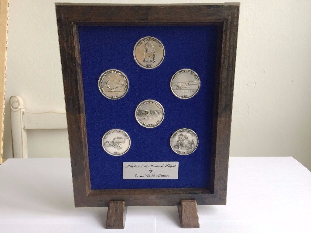 MANNED FLIGHT COLLECTORS COINS NICE XMAS GIFT £9