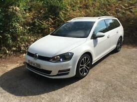 2014 vw golf Estate gt bluemotion tdi diesel