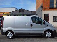 NO VAT! Vauxhall Vivaro SWB 11 plate van with full service history air con reversing sensors (18)