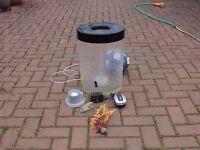 Biorb BUIBE cylinder 35L fish tank aquarium with light kot