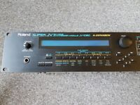 """Roland JV 1080 Synth Module (Including """"World"""" Expansion Board). Pro sound module."""