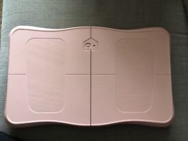 Electric fitness board, compatible with wii fit