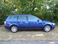 Wolkswagon Passat Estate 2.0l Blue
