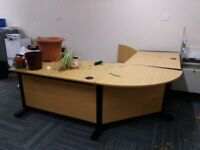 free office equipment. Desks/chairs/cabinets