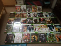 30 XBOX 360 games, HALO, ASSASSIN'S CREED, Castelvania and more!