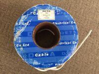 Telephone Cable 3 Pair Copper Clad Steel - Deta 503 Almost 100m