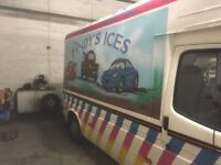 Ice Cream Van and Run for sale West Dumbartonshire Area