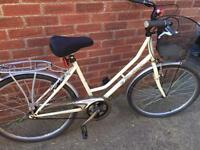 "Ladies 19"" Westwood town bike bicycle inc free lights & delivery. D lock available"