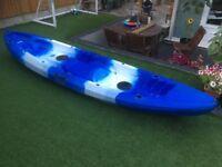 SeaGo 2 man sea kayak with small mid seat.