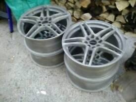 Wolfrace multi-fitment alloys