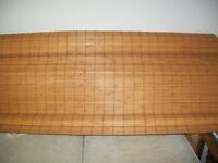 Bamboo wooden roman blinds 150 wide 2 available