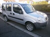 2010 FIAT DOBLO WITH WHEELCHAIR ACCESS 13,000 MILES
