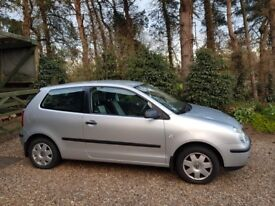 VW polo, 54 plate, 1.4, 141k miles
