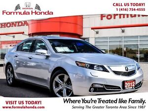 2012 Acura TL TECH PKG | ALL WHEEL DRIVE | NAVIGATION