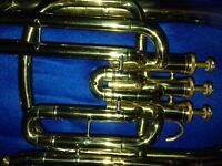 Euphonium for sale £195. Bb in case. B&M Champion. Excellent condition.