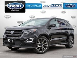 "2016 Ford Edge Sport400A|2.7L EcoBoost|21"" Wheels"