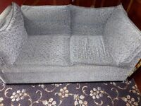 2-seater settees x 2 - preowned but in good condition. IKEA