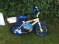 Toddlers Apollo Halfords Police Control Bike - In excellent condition