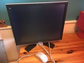PC and Flat Screen Monitor 8GB Ram 3.33ghz Intel Core Duo