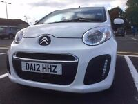 Almost new Citroen C1 with single owner