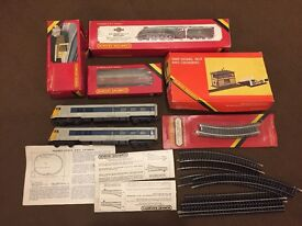 Hornby Train Bits very old looking for offers on the lot or can sell the bits separate