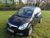 Black Vauxhall Agila club 1.2 petrol