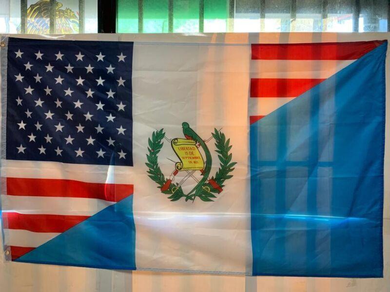 Guatemala Flag 3x5 Bandera Usa Guatemala 3x5 Usa Guatemala Banner  1 Piece Only