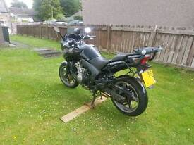 Honda CBF 600 SA abs 2009 '58 plate in black. 54,239 miles on the clock, very good condition