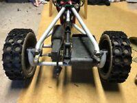 Golf trolley winter tyres