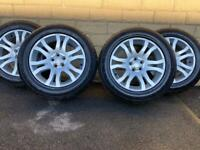 Land Rover Freelander 2 HSE 18 inch alloy wheels! Like new Continentals!