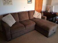 L Shape Sofa / Double Bed