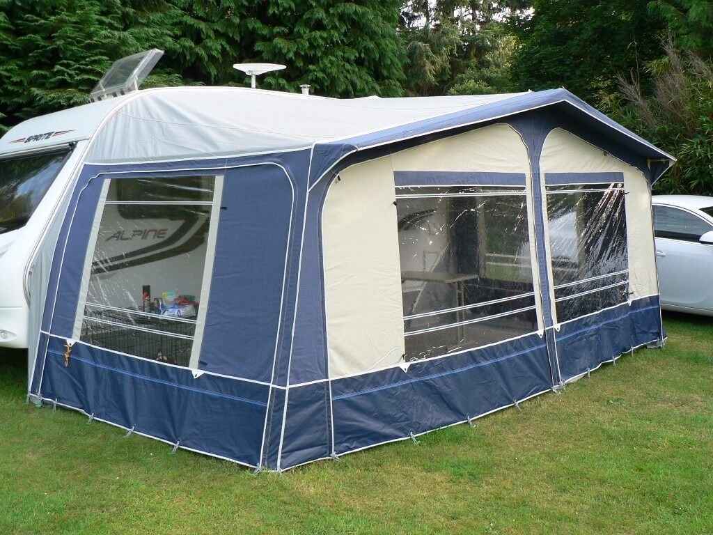 Ventura Caravan Awning Atlantic Blue 900 Cm In St Ives