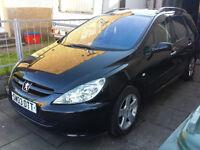 Peugeot 307 SW Estate £580 ono