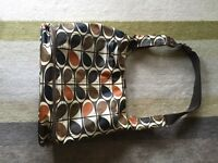 ORLA KIELY CHANGING BAG AND MATCHING CHANGING MAT - GOOD CONDITION